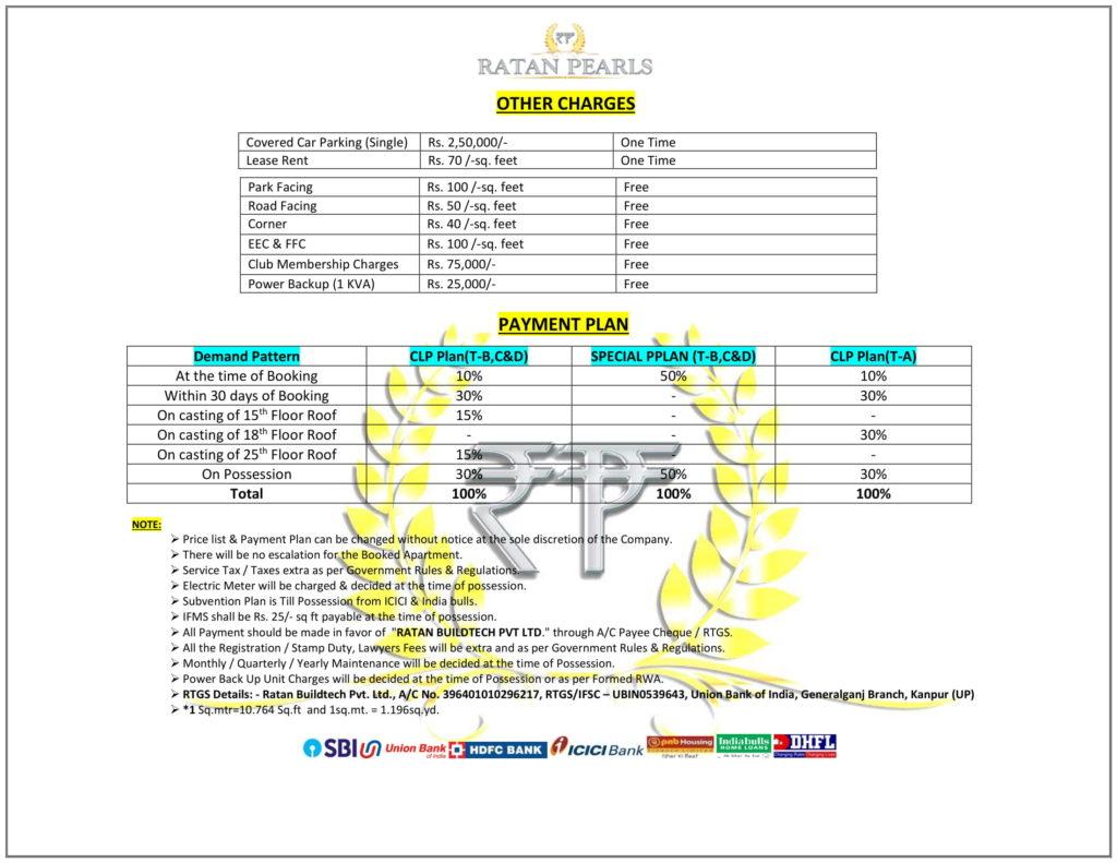 Ratan Pearls Payment Plan