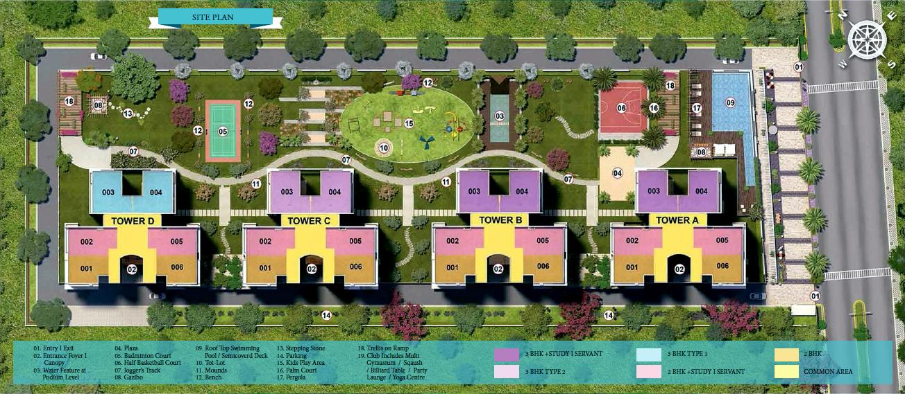 Ratan Pearls Site Plan
